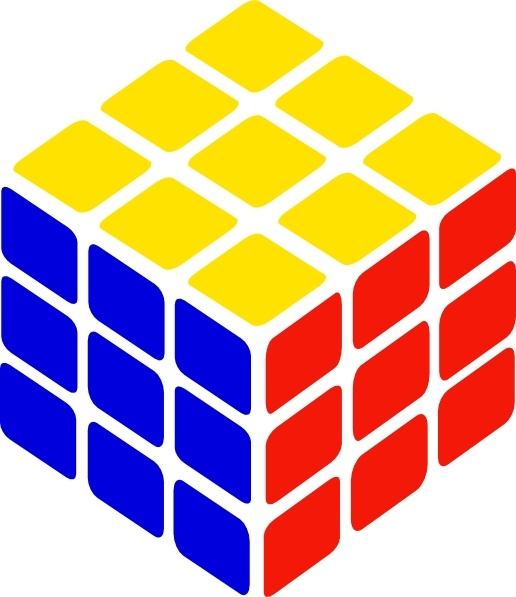 516x597 Rubix Cube Clipart Collection