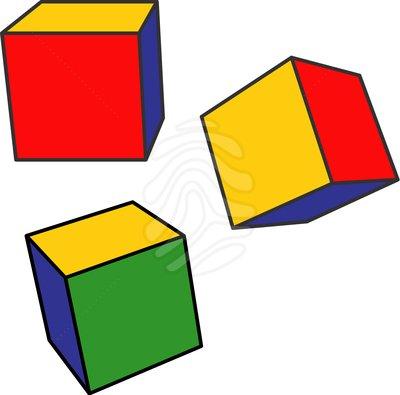 400x395 Clip Art Color Cubes Clipart Panda