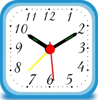 416x425 Clipart Clock