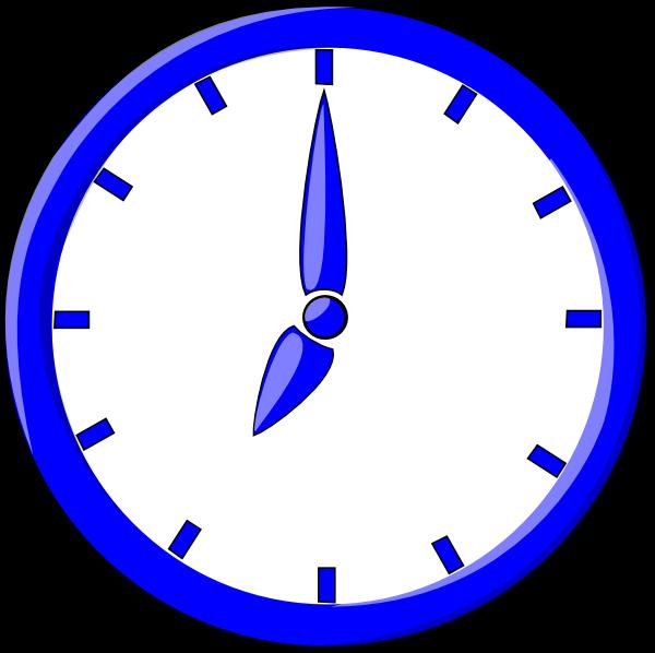 600x598 Clock Clip Art Free Vector 4vector