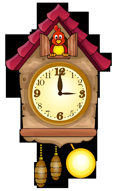 3768x6170 Cute Cuckoo Clock Png Clip Art