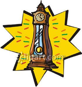 281x300 Pendulum Clipart Grandfather Clock