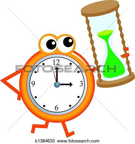 442x470 Sand Clock Clipart