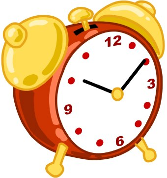 340x362 Cartoon Clock Clip Art 101 Clip Art