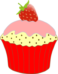 230x297 Vanilla Cupcakes Clipart Free Clipart Images