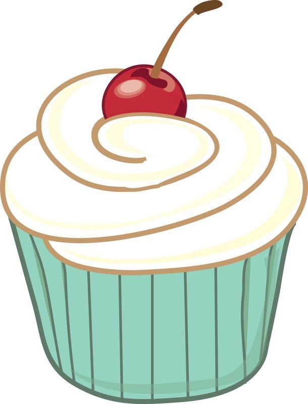 610x800 Cupcake Clipart