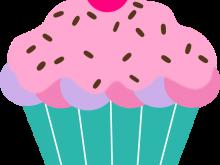 220x165 Pink Cupcake Clipart Cupcake Rosado Cupcakes 3 Pink