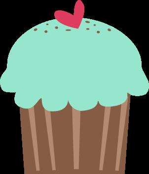302x353 Cupcake Clip Art
