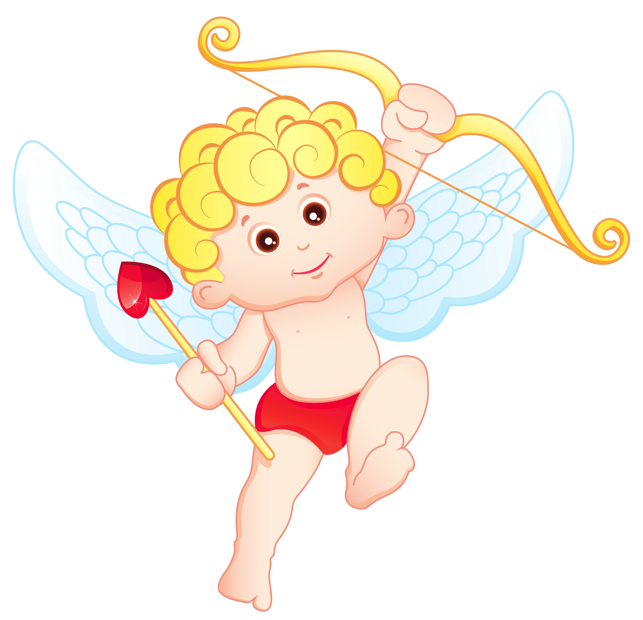 2592x2499 Cute Blonde Cupid Png Clipartu200b Gallery Yopriceville