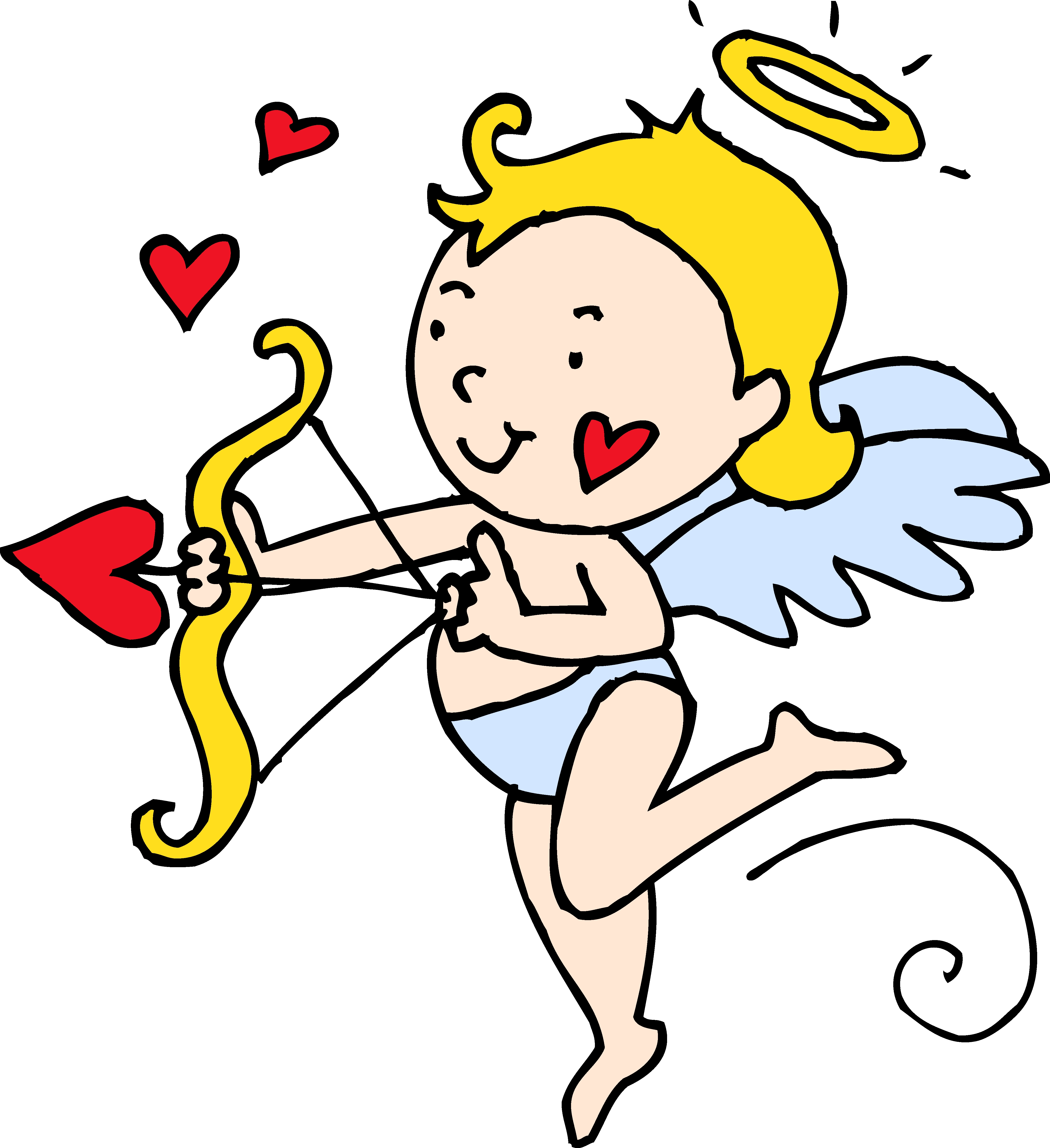 4582x5008 New Cupid Clipart Design