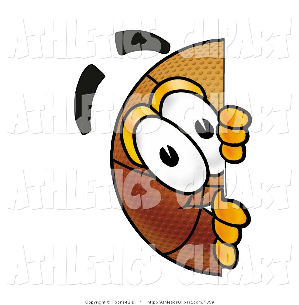 1024x1044 Clip Art Of A Curious Basketball Mascot Cartoon Character Peeking
