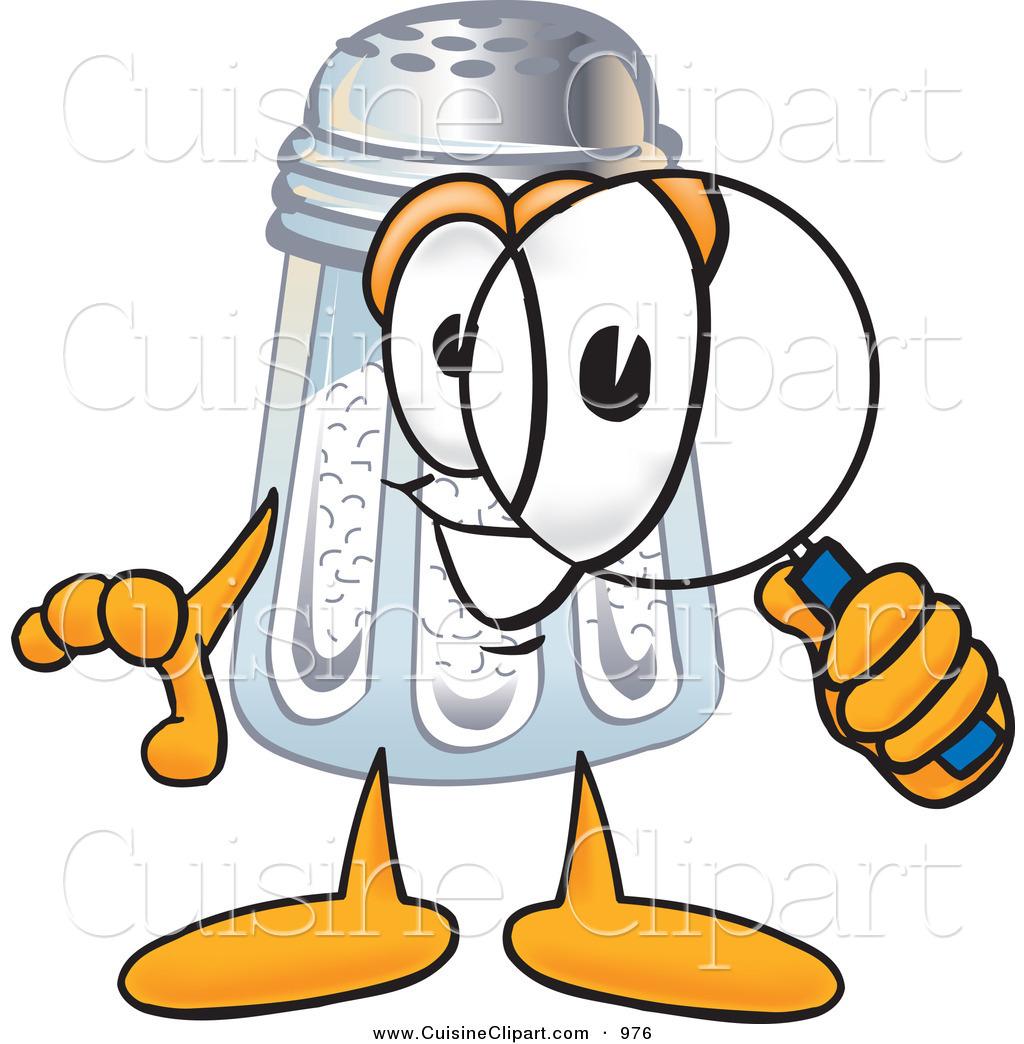 1024x1044 Cuisine Clipart Of A Curious Salt Shaker Mascot Cartoon Character
