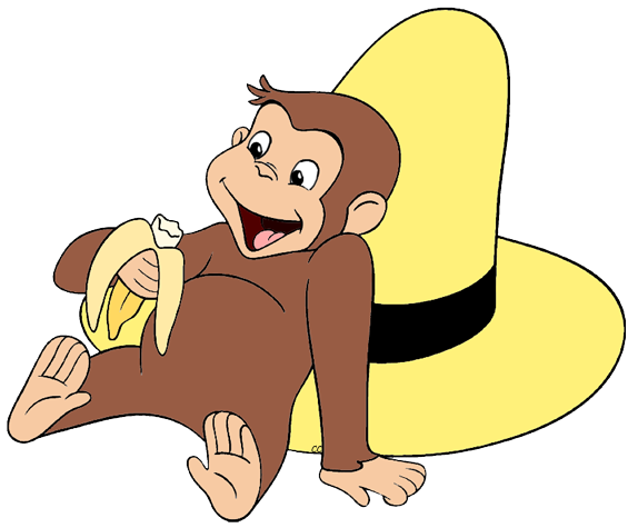565x475 Curious George Clip Art Cartoon Clip Art