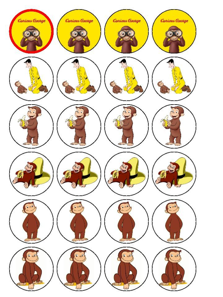 720x960 184 Best Curious George Printables Images On Curious