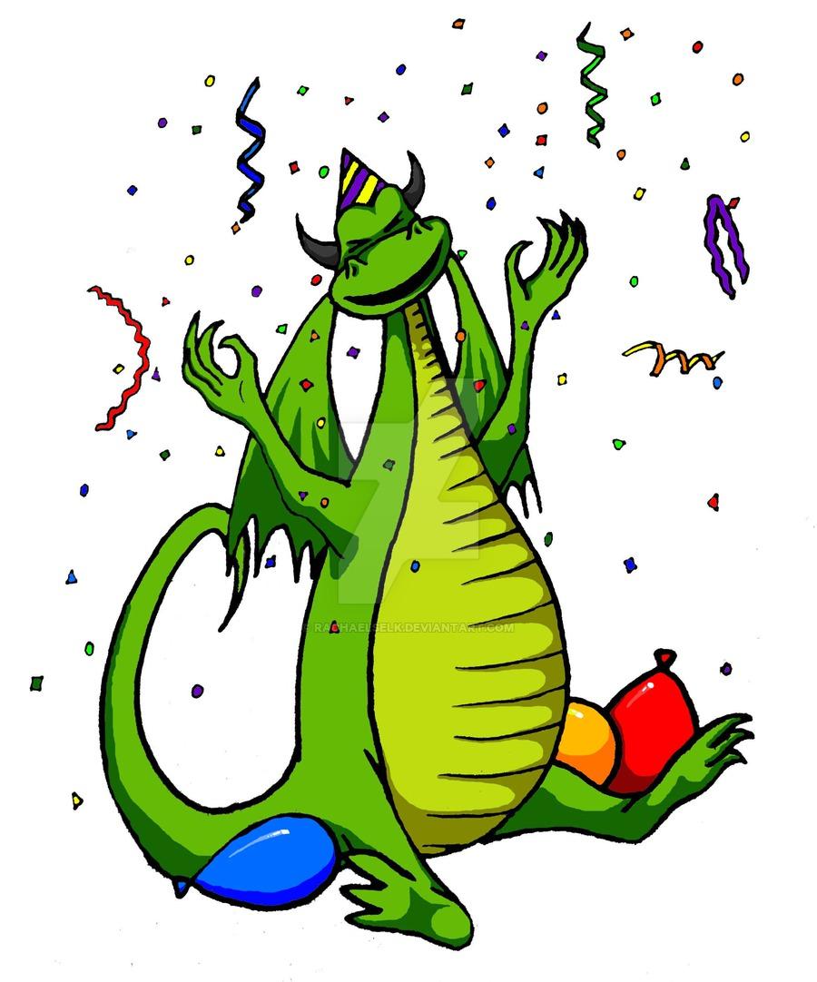 900x1082 Birthday Clipart Dragon