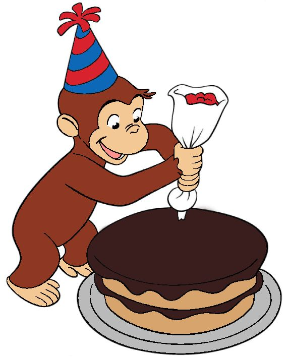 573x708 Curious George Birthday Card 50 Best Curious George Images