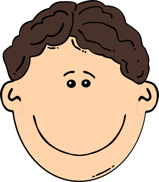 522x597 Collection Of Boy Curly Hair Clipart High Quality, Free