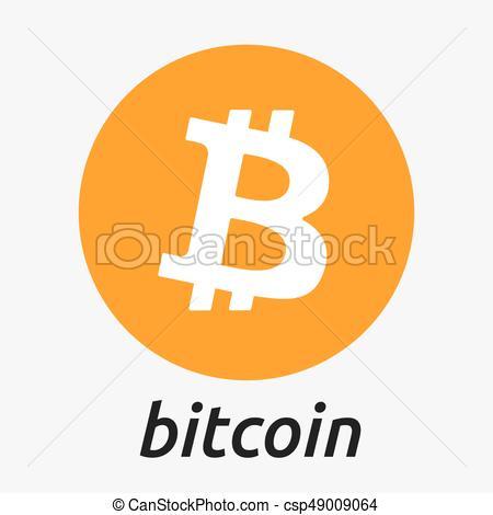 450x470 Bitcoin Blockchain Crypto Currency Logo. Bitcoin Crypto Clip