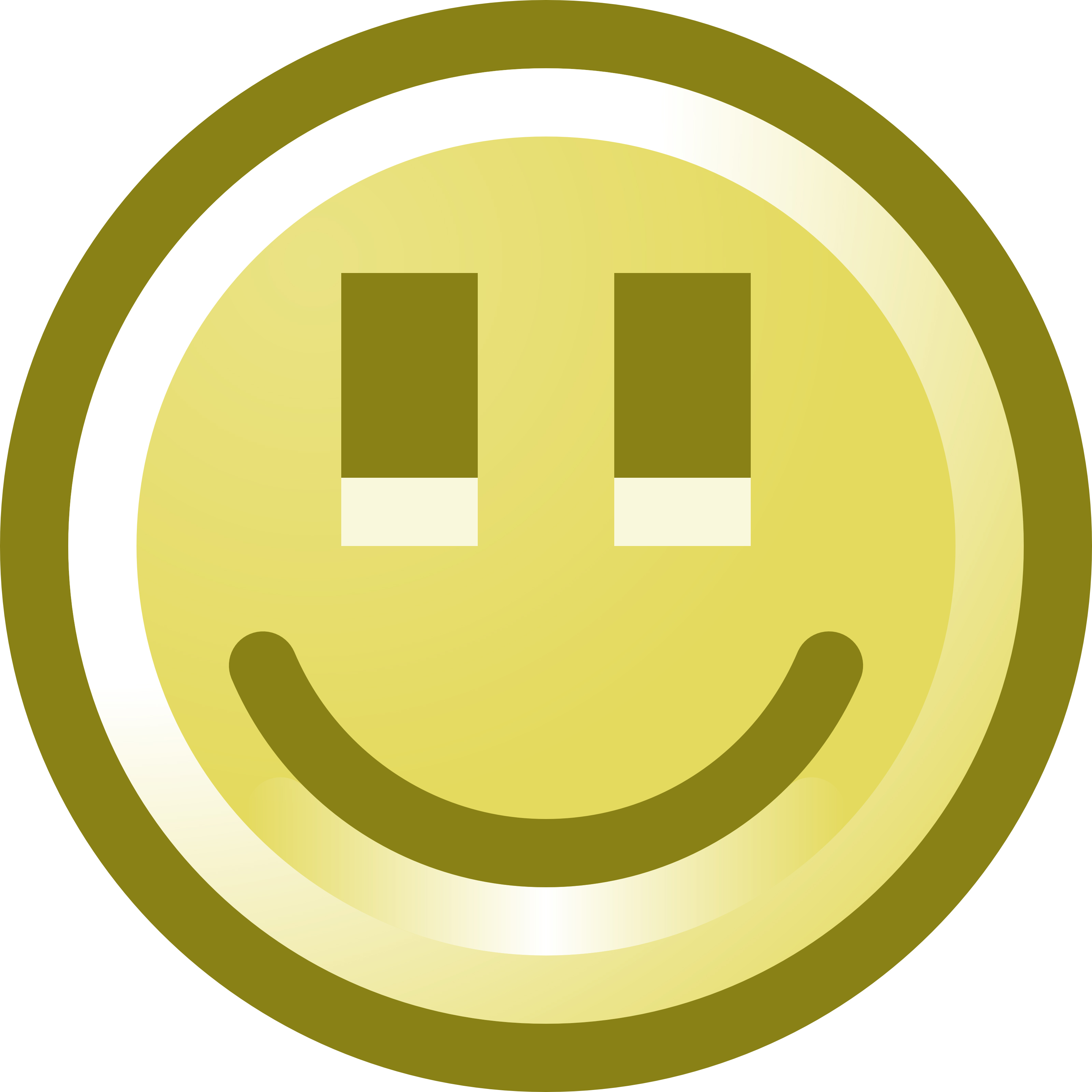 3200x3200 Free Smiling Smiley Face Clip Art Illustration