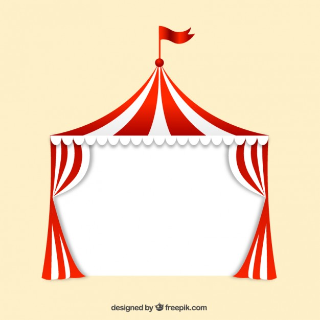 626x626 Curtain clipart vintage circus