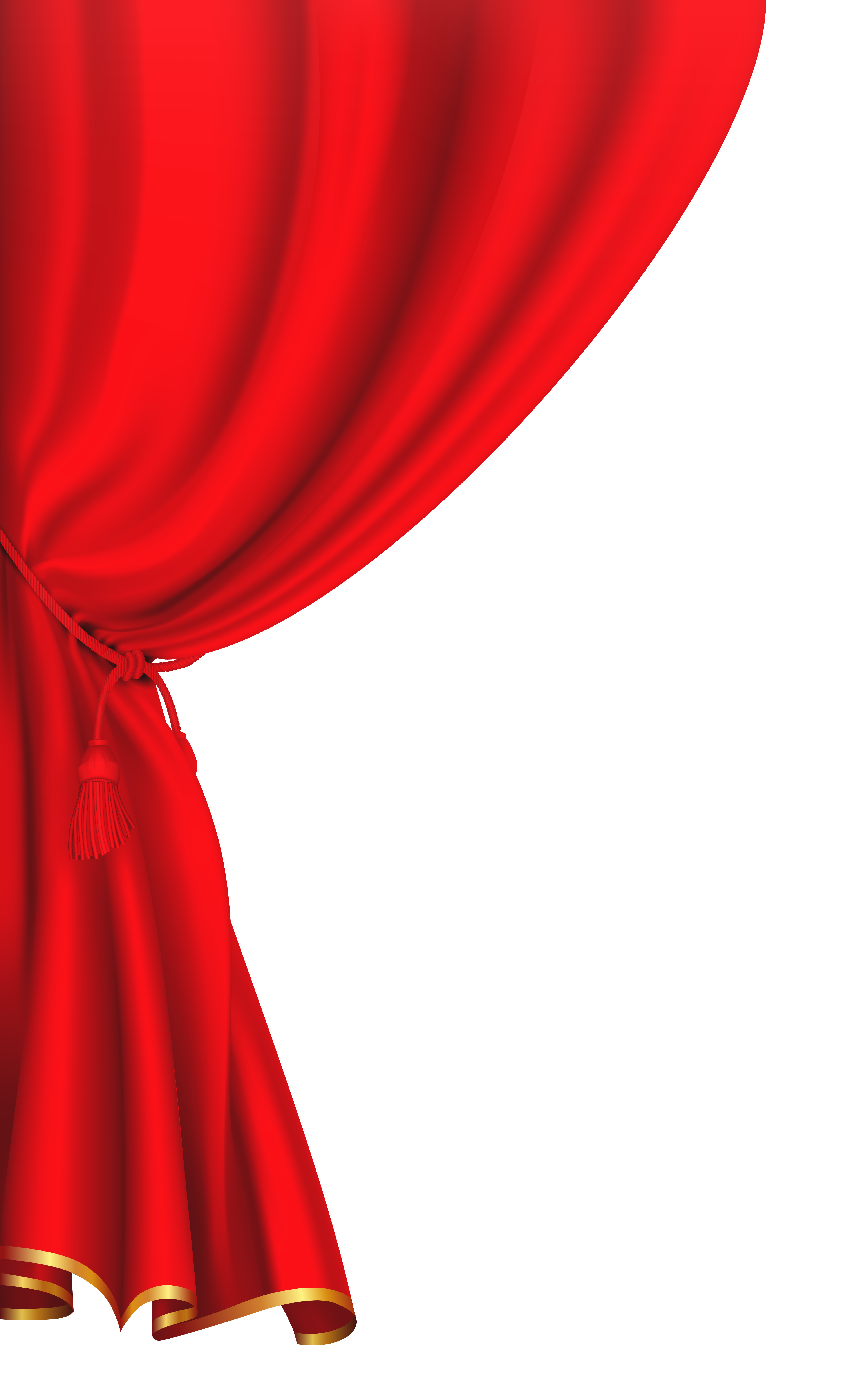 3952x6307 Red Curtain Clipart Image Png2 Pinterest Red curtains
