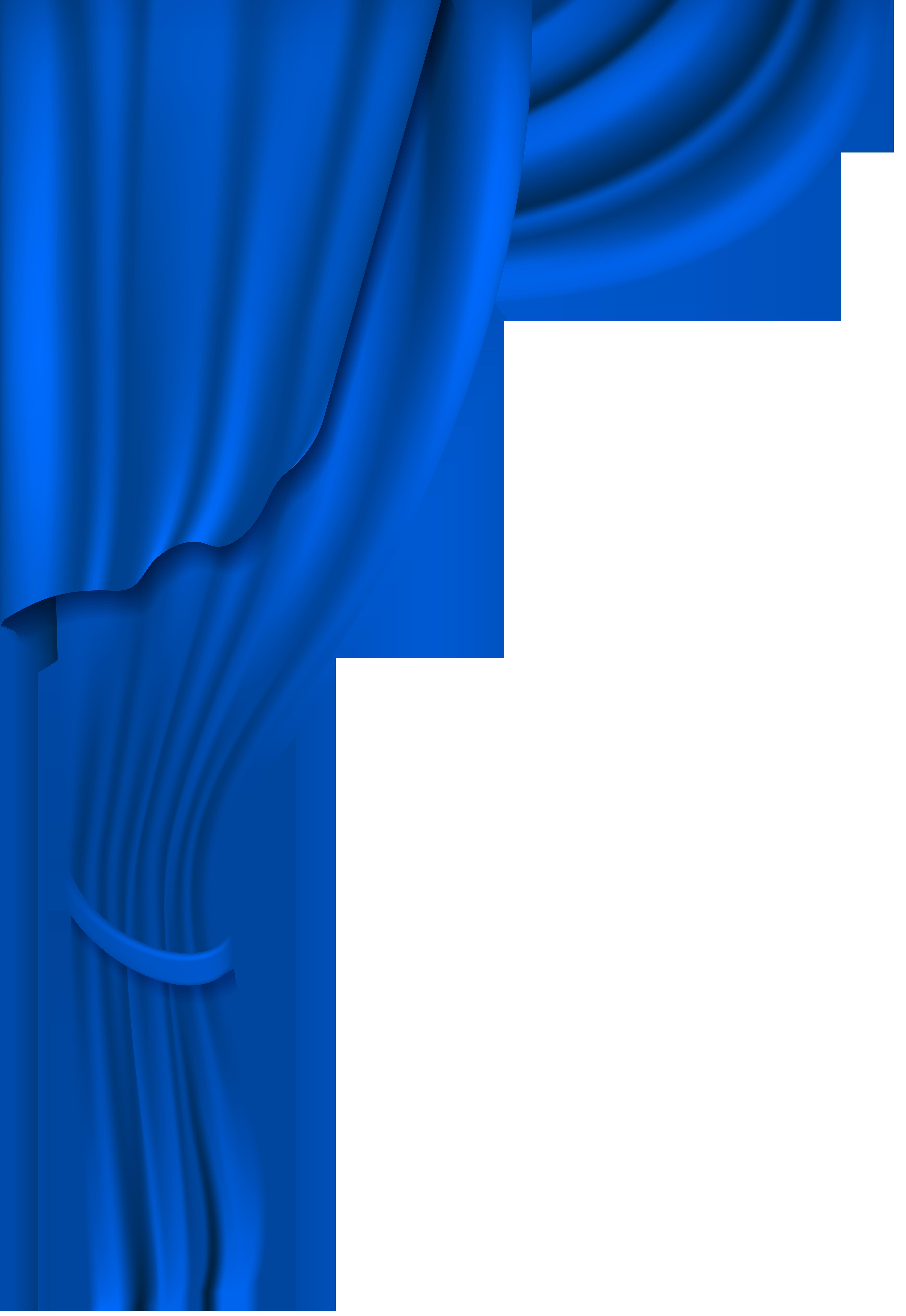5509x8000 Blue Curtain Transparent Clip Art Imageu200b Gallery Yopriceville