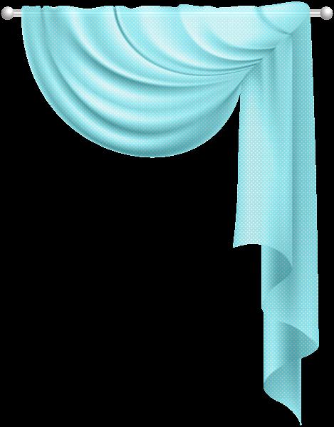 469x600 Transparent Curtain Blue Clip Art PNG Imageu200b Gallery