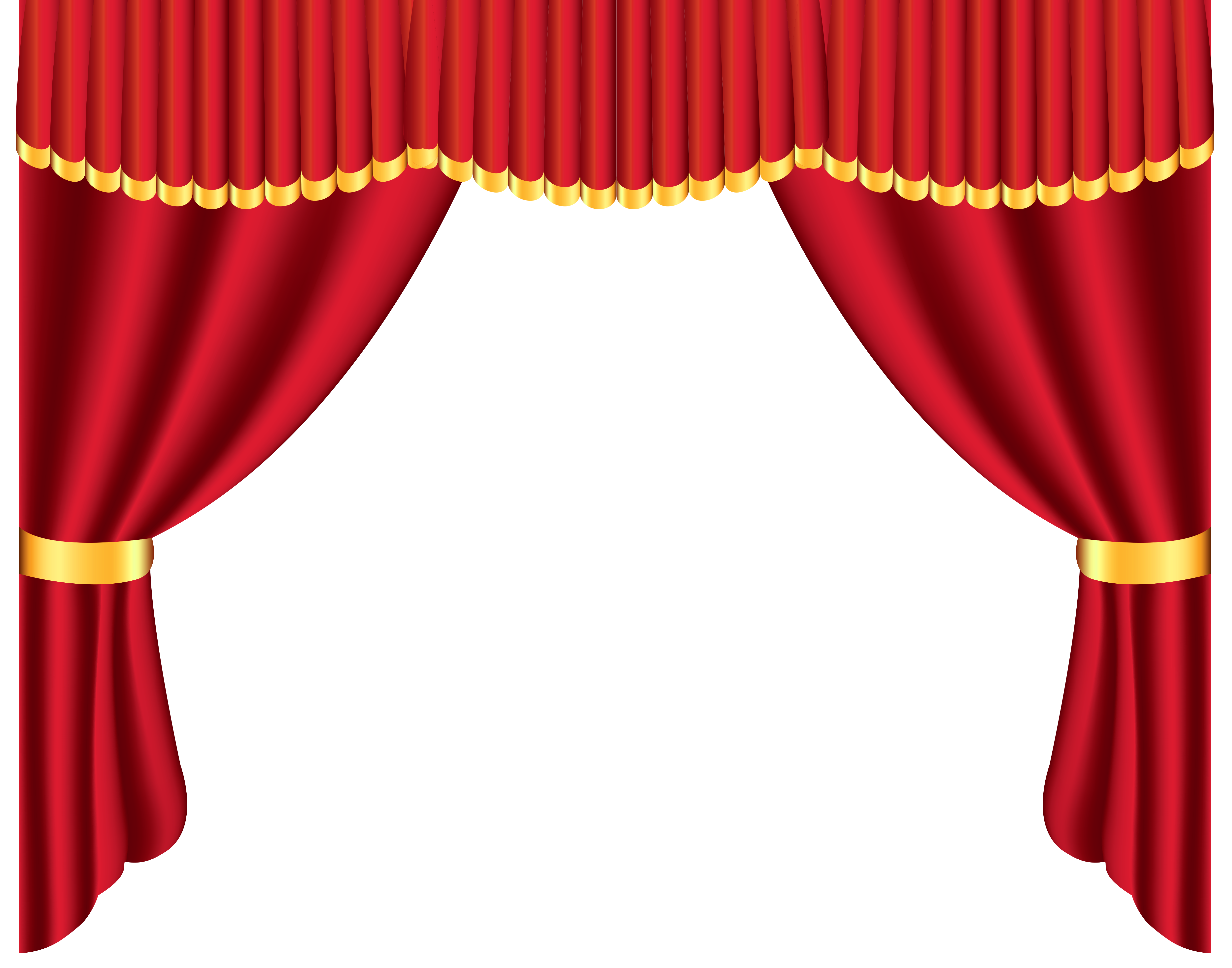 4964x3901 Transparent Red Curtain PNG Clipartu200b Gallery Yopriceville
