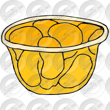 380x380 Fruit Cup Picture For Classroom Therapy Use
