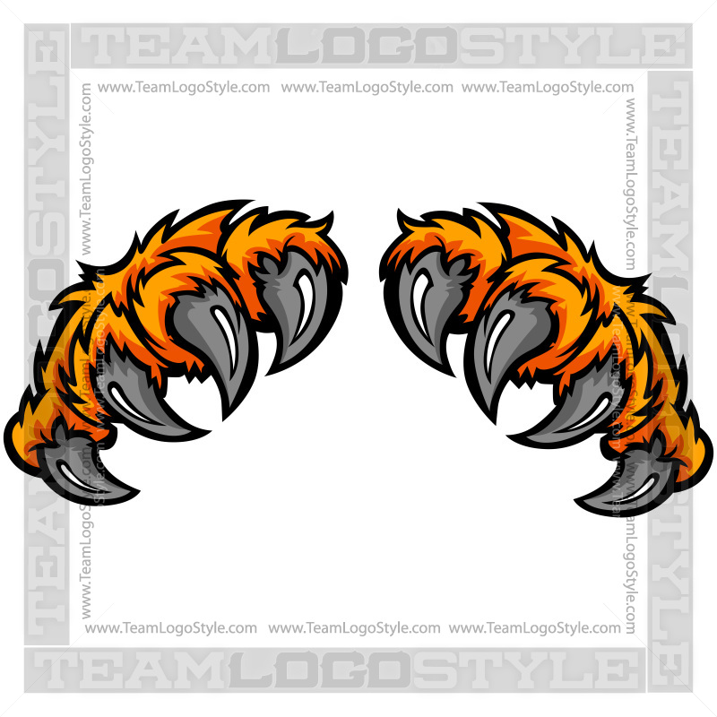 800x800 Clip Art Tiger Claw