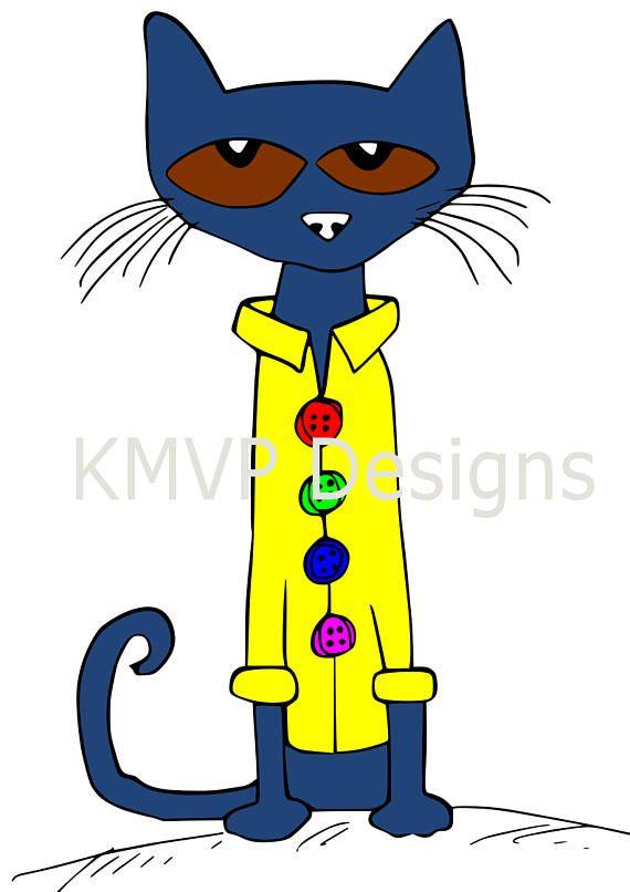 570x806 Pete The Cat Svg Cut File Cricut Silhouette Cameo Paper