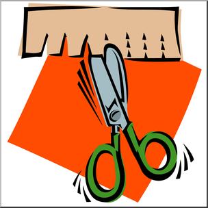 304x304 Clip Art Scissors Cutting Snip Color I Abcteach