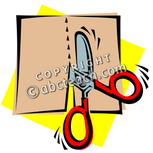 300x300 Clip Art Scissors Cutting Clipart Panda