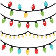 236x236 Christmas Lights Scrapbook Clip Art Christmas Cut Outs For Cricut