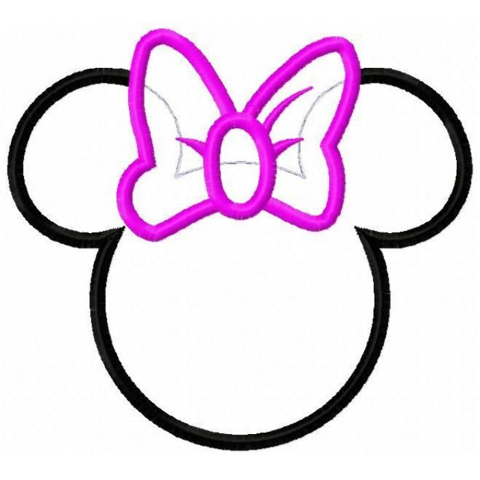 700x700 Minnie Mouse Bow Cutouts Minnie Mouse Bow Cut Out Clipart Panda