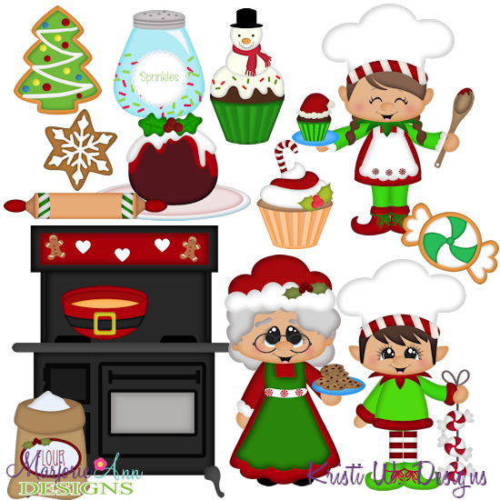 550x550 Mrs Clause Kitchen Svg Mtc Png Plus Jpg Cut Out Sheet(S) Our Sets