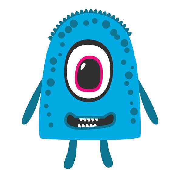570x570 Monster Clipart Cute Monsters Clip Art, Alien Clipart, Alien