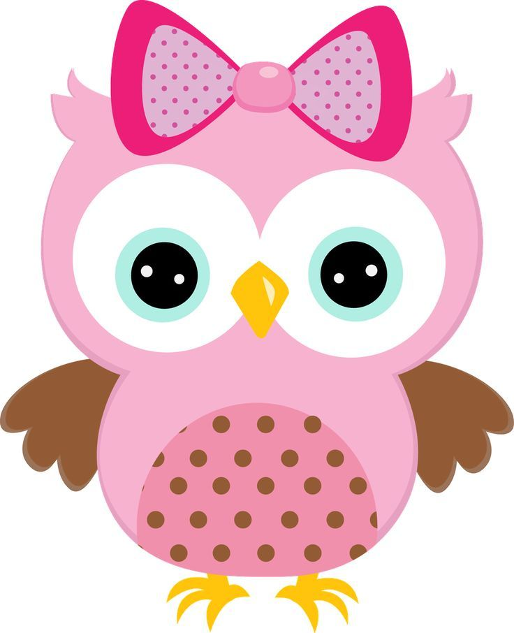 736x906 Girl Owl Clipart