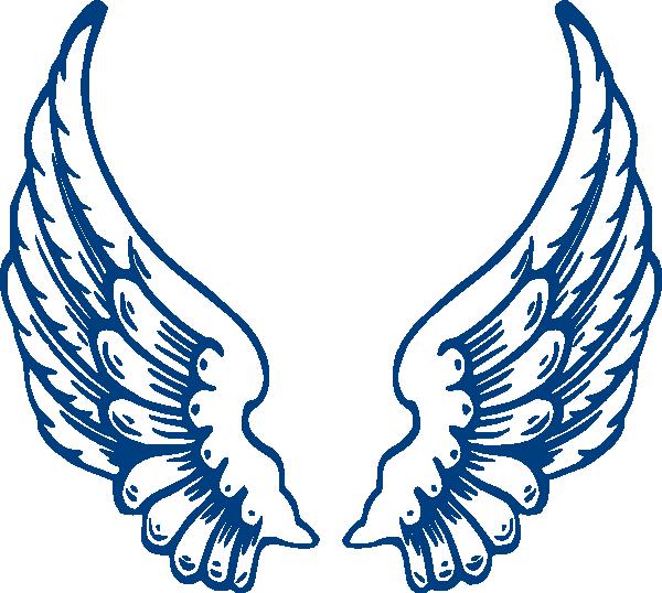 600x538 Bbb Angel Wings Clip Art Clipart Panda