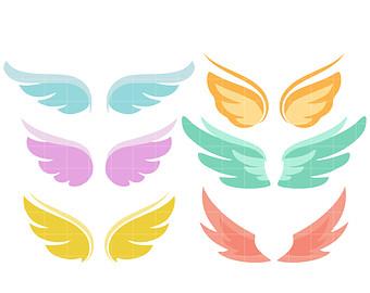 340x270 Cute Angel Clipart Etsy