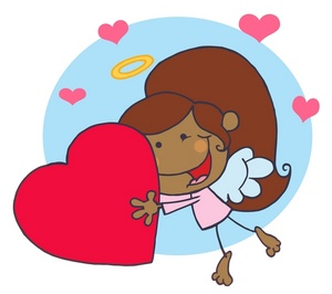 300x266 Free Angel Clipart Image 0521 1002 1012 0317 Valentine Clipart