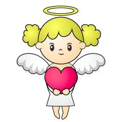 240x240 Free Bow And Arrow Angel Clip Art Cartoon Amp Clipart