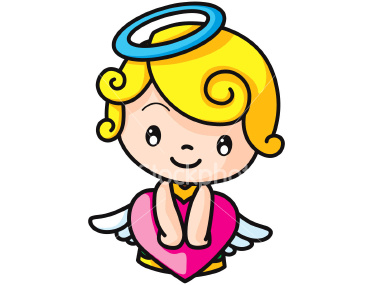 380x285 Angel Clipart Angel Face