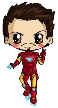200x370 Captain Marvel Clipart Chibi