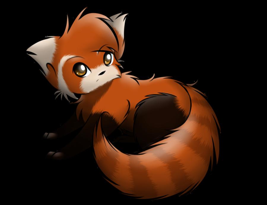 900x692 Red Panda How To Draw A Chibi Panda Free Download Clip Art 2