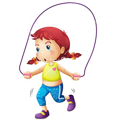 380x400 a cute little girl playing skipping rope vector 2044487.jpg (380
