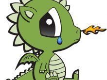 220x165 Baby Dragon Clipart Cute Dragon Clipart Ba Dragon Royalty Free