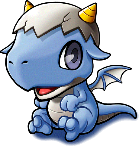 460x485 Cute Baby Dragons