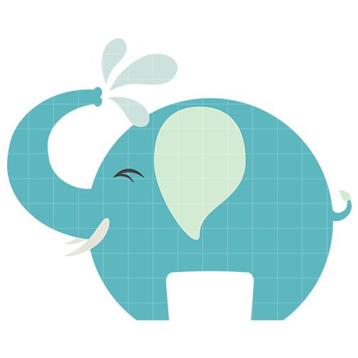 504x504 Baby Elephant Clipart 8