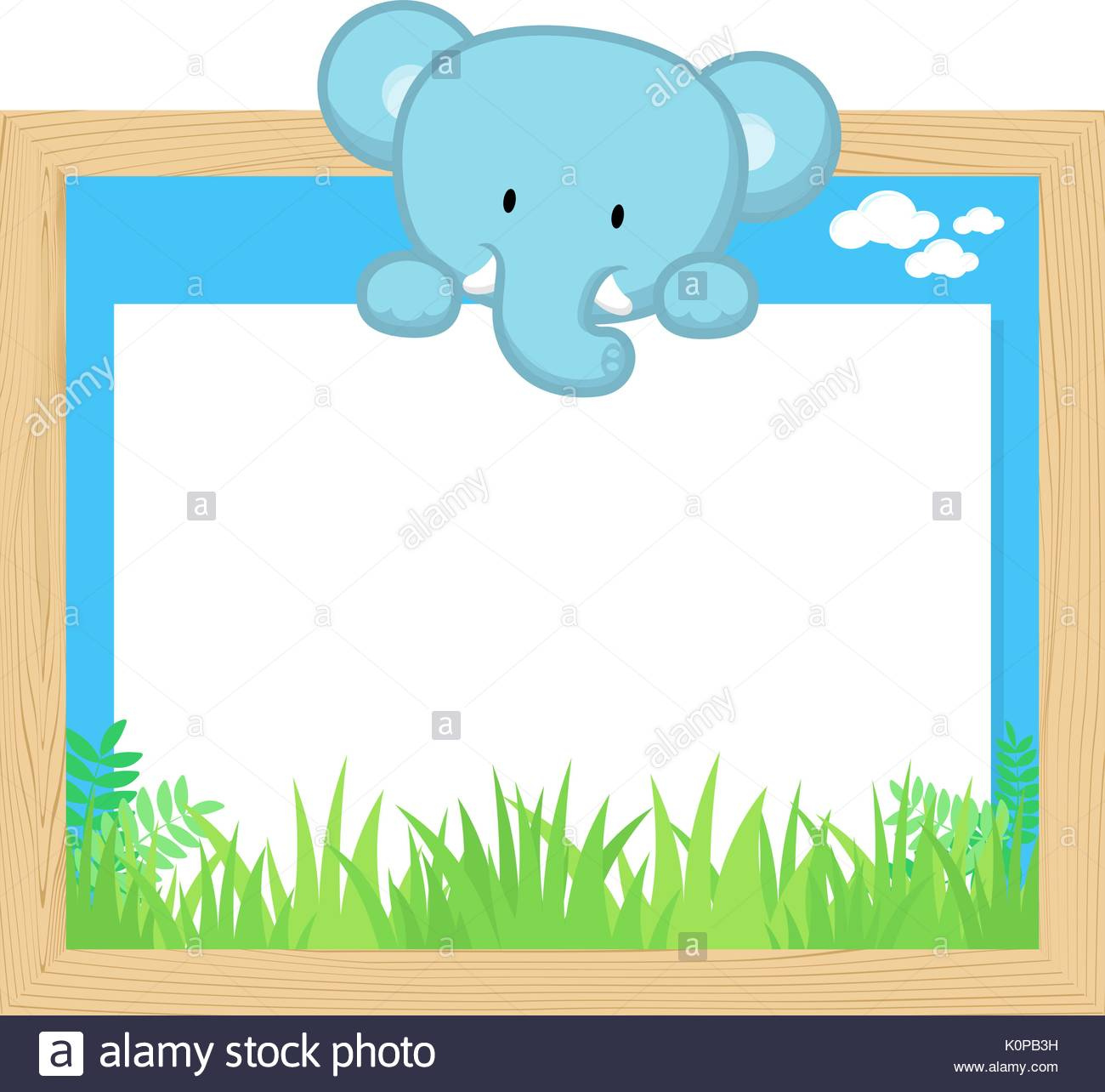 1300x1284 Cartoon Cute Baby Elephant Stock Photos Amp Cartoon Cute Baby